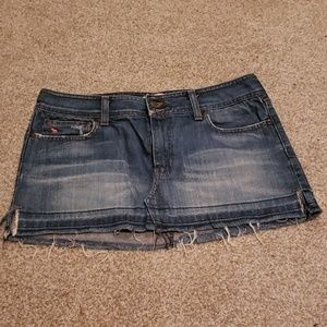 Abercrombie & Fitch Mini Jeans Skirt